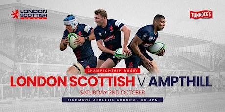 London Scottish v Ampthill tickets