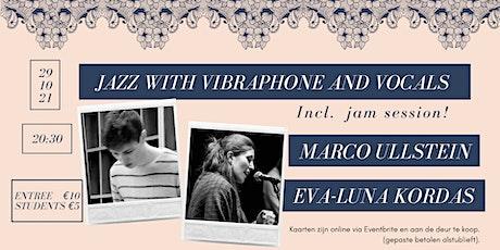 Marco Ullstein & Eva-Luna Kordas jazz night tickets