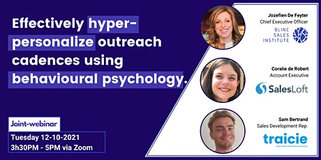 effectively hyper-personalize outreach cadences using emotional psychology. tickets