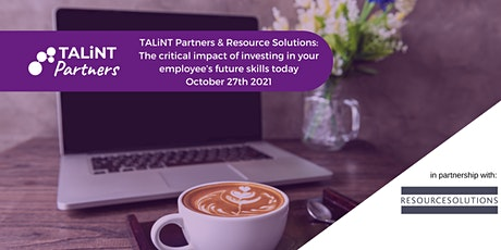 TALiNT Partners & Resource Solutions: Investing in future skills (US only) biljetter