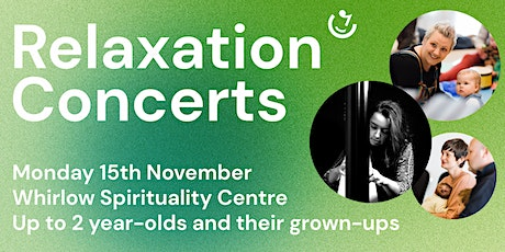 Relaxation Concerts: 10am, Monday 15th November   Manon McCoy (harp) tickets