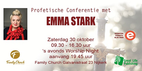 'Profetische Strijder' Conferentie met Emma Stark tickets