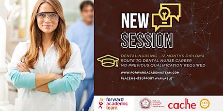 Learn and Work as a Trainee Dental Nurse tickets