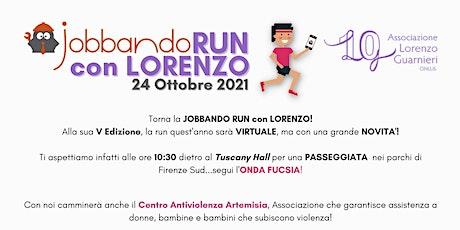 Jobbando Run con Lorenzo biglietti