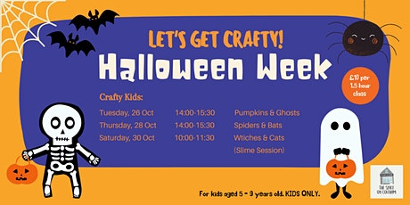 Halloween Week: Crafty Kids tickets