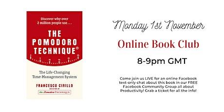 Online Book Club - The Pomodoro Technique by Francesco Cirillo tickets