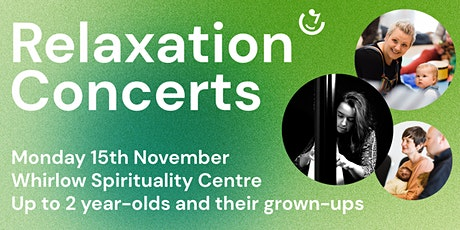Relaxation Concerts: 11.30am, Monday 15th November   Manon McCoy (harp) tickets