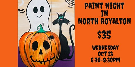 Halloween Paint Night in North Royalton | Paint and Sip tickets