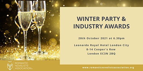 Romantic Novelists' Association Winter Party and Industry Awards 2021 tickets