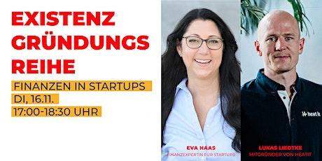 Finanzen in Startups Tickets