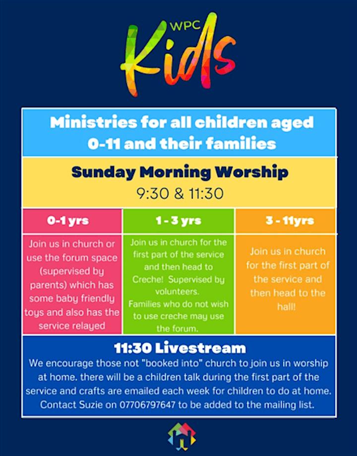 Sunday Gathered Worship - 3rd October 2021 @ 9:30am image