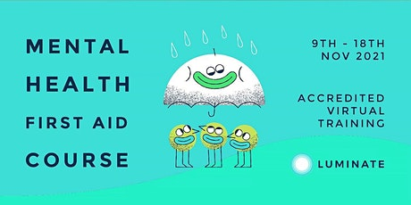 Online Mental Health First Aid Training tickets