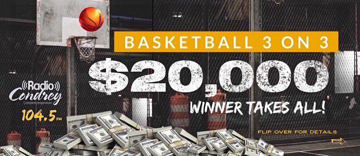 Radio Condrey 3 on 3 | $20,000 Game| WINNER TAKES ALL image