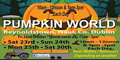 Pumpkin World tickets