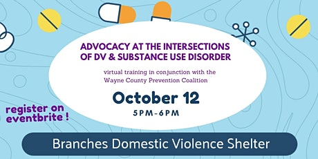 Advocacy at the Intersections of DV & Substance Use Disorder tickets