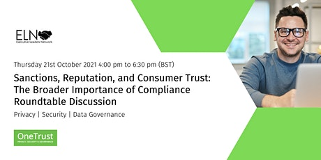 Roundtable Discussion - Sanctions, Reputation, and Consumer Trust: tickets