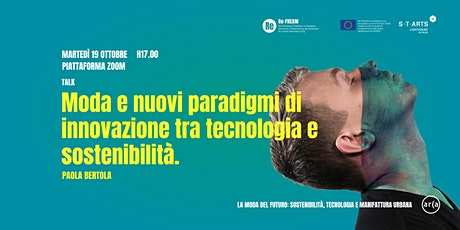 Moda e nuovi paradigmi di innovazione tra tecnologia e sostenibilità biglietti