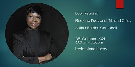 Book Reading Pauline Campbell tickets