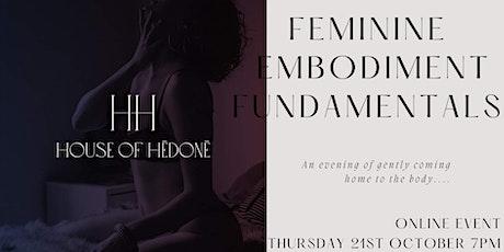 Feminine Embodiment Fundamentals tickets