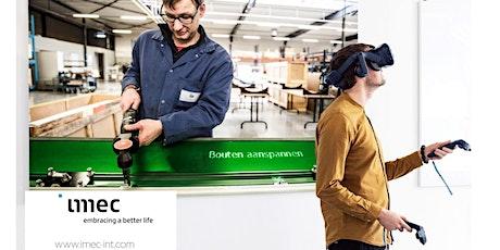 Training in de maakindustrie: slimmer en effectiever met AR en VR? tickets