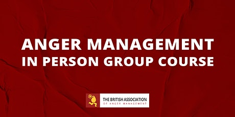 Anger Management: Weekend Intensive Group Course tickets