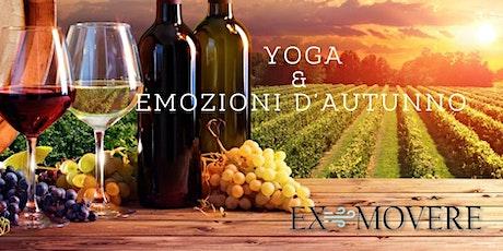 EMOZIONI D'AUTUNNO - WINE TASTING biglietti