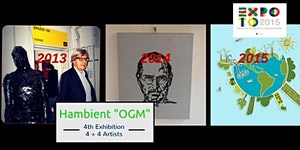 "Inaugurazione mostra Hambient ""OGM"""
