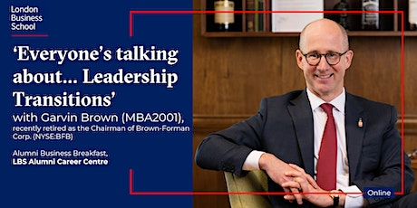 'Everyone's talking about…Leadership Transitions' with Garvin Brown tickets