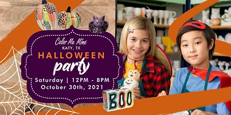Halloween Party: Tricks, Treats and Painting tickets