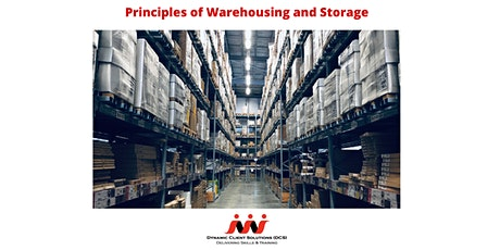 Register your Interest: Level 2 The Principles of Warehousing and Storage tickets