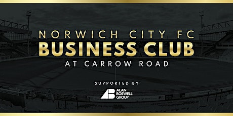 Norwich City FC Business Club, supported by Alan Boswell Group tickets