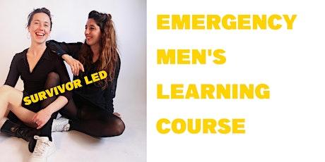 Emergency Men's Learning Course, Bristol tickets