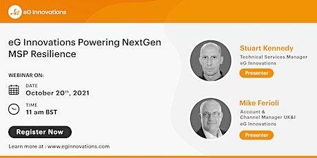 eG InnovationsPowering NextGen MSP Resilience tickets