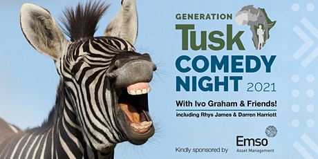 GenerationTusk Comedy Night with Ivo Graham & Friends sponsored by Emso tickets
