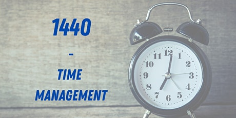 1440 - Time Management for Business tickets
