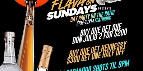 FLAVA SUNDAYS BRUNCH & DAY PARTY tickets