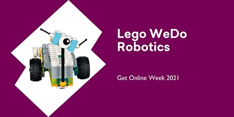 Lego WeDo Robotics - Get Online Week @ Huonville Library tickets