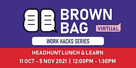Brown Bag : Entrepreneurship Within Your Organisation tickets