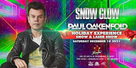 Paul Oakenfold at Snow Glow 2021 tickets