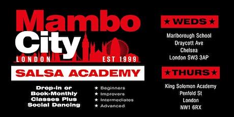 MamboCity Salsa Academy Classes tickets
