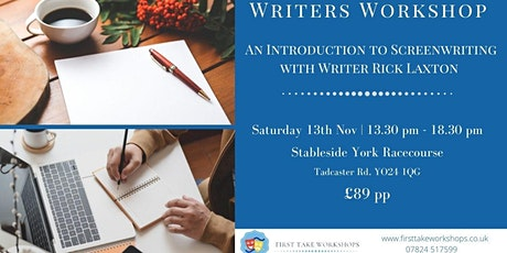 An Introduction to Screenwriting with TV Writer Rick Laxton tickets