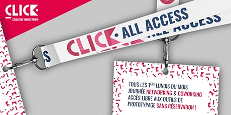 CLICK All Access - Journée Networking & Coworking billets