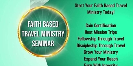 Faith Based Travel Ministry tickets