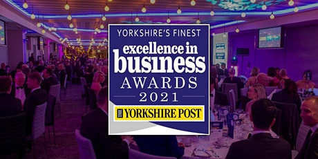 The Yorkshire Post Excellence in Business Awards 2021 tickets