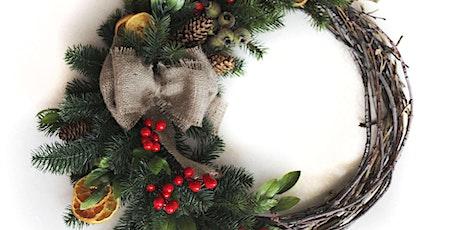 Christmas Wreath Making Workshop (1) per ticket tickets