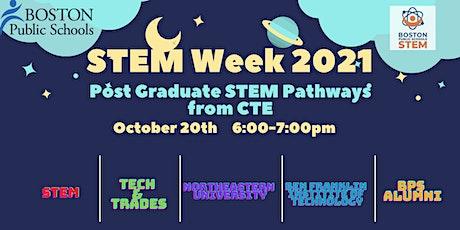 Post Graduate STEM Pathways from CTE tickets