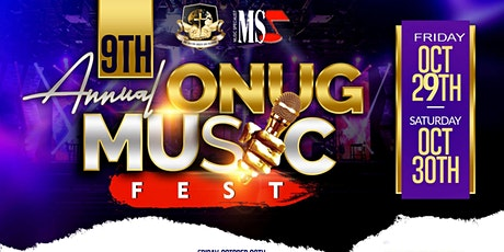 9th Annual ONUG Music Fest @ the C-ROOM tickets