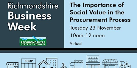 The Importance of Social Value in the Procurement Process tickets