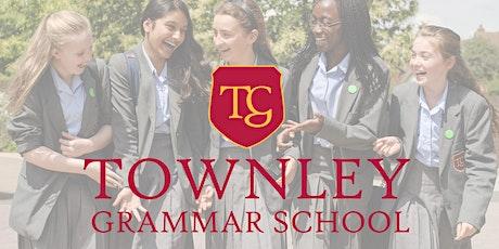 Townley Grammar School Year 6 Open Morning - Thursday 21st October 2021 tickets