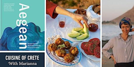 Greek Island Cooking with Marianna Leivaditaki tickets